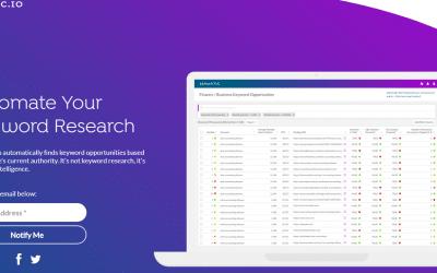 Semantic.io: Tu Keyword Research (investigación de palabras clave) automática